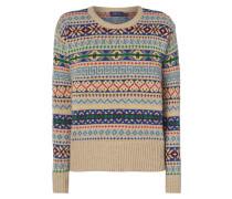 Pullover mit Kaschmir- und Seide-Anteil
