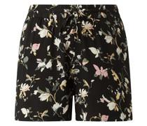 Shorts aus Viskose Modell 'Simply'