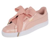 Sneaker 'Basket Heart' in Lackoptik