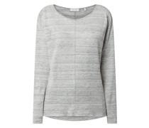 Shirt aus Leinenmischung