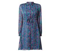 Blusenkleid mit floralem Muster Modell 'Frieda'