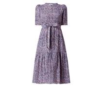 Kleid mit Puffärmeln Modell 'Calix'