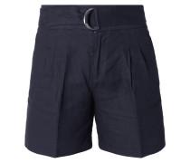 Shorts mit Gürtel