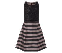 Kleid mit Oberteil aus Spitze