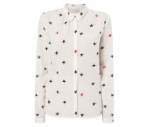 Hemdbluse mit Sternenmuster