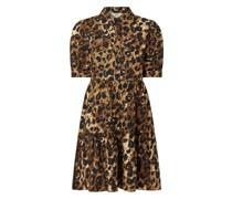 Blusenkleid mit Allover-Muster Modell 'Rosita'