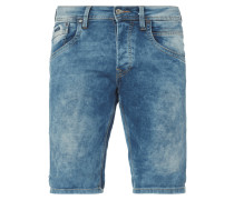 Moon Washed Regular Fit Jeansshorts