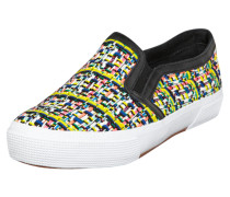 Slip-On Sneakers in Web-Optik