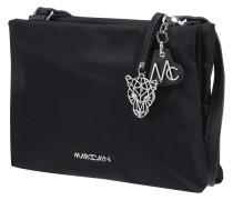 Crossbody Bag mit Schulterriemen aus Leder