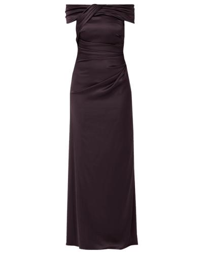 Off-Shoulder-Abendkleid mit Drapierungen
