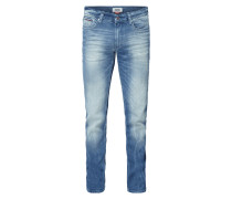 Stone Washed Original Straight Fit Jeans