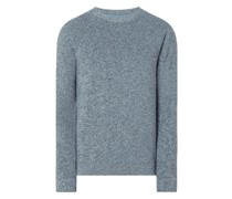 Pullover aus Mouliné Modell 'Maago'