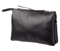 Crossbody Bag aus fein genarbtem Leder