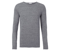 Pullover mit gerollten Abschlüssen
