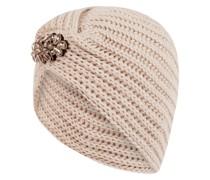 Mütze mit Zierperlen