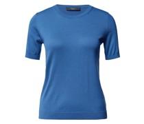 T-Shirt aus Seide-Mix Modell 'Salute'