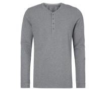 Serafino-Shirt aus reiner Baumwolle