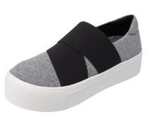 Slip-On Sneaker mit elastischen Riemen