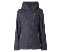 Jacke mit Allover-Muster