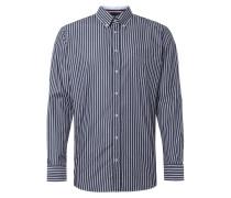 Regular Fit Freizeithemd mit Streifen-Dessin