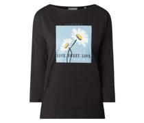 Shirt mit floralen Prints Modell 'Elenka'
