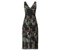 Kleid aus Chiffon mit floralem Muster Modell 'Malinae'
