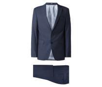 Modern Fit Anzug aus reiner Schurwolle
