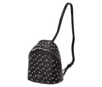Rucksack mit sternförmigem Nietenbesatz