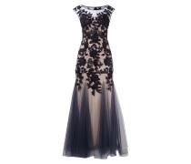 Abendkleid im Meerjungfrau-Stil aus Mesh