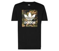 T-Shirt mit großem Camouflage-Print