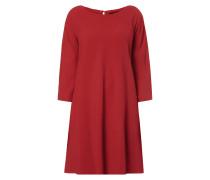 Kleid aus Krepp in A-Linie
