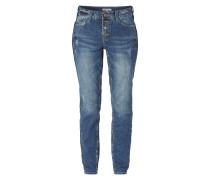 Boyfriend Jeans im Used Look