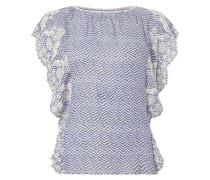 Blusenshirt mit Zickzack-Muster