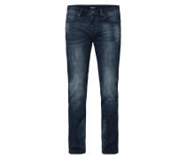 Super Slim Fit Jeans mit Knopfleiste