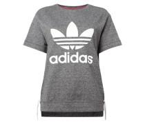 Sweatshirt mit seitlichen Schnürungen