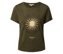 T-Shirt aus Slub Jersey Modell 'Astrid'
