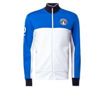 Sweatjacke im Italien-Look