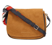 Crossbody Bag aus Veloursleder