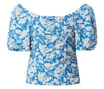 Blusenshirt mit Carmen-Ausschnitt Modell 'Mynte'