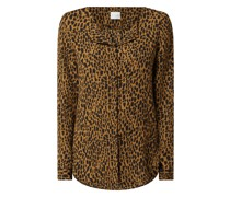 Blusenshirt mit Leopardenmuster Modell 'Lucy'