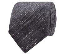 Krawatte mit dekorativem Pilling-Effekt