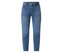 Slim Straight Fit Jeans mit Stretch-Anteil Modell 'Olivia'