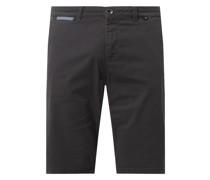 Regular Slim Fit Chino-Shorts mit Stretch-Anteil Modell 'Josh'