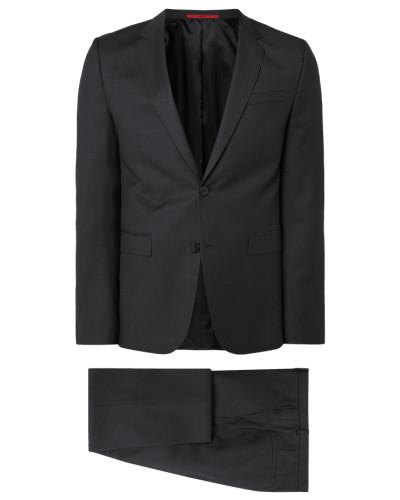 Extra Slim Fit Anzug aus reiner Schurwolle