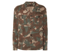 Modern Fit Freizeithemd mit Camouflage-Muster