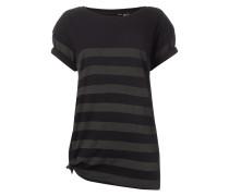 Straight Fit T-Shirt mit Streifenmuster