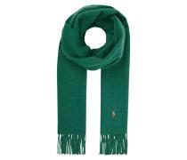 Schal aus Wolle mit Logo-Stickerei