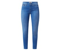 Skinny Fit Ankle Cut Jeans mit Stretch-Anteil Modell 'Nora'