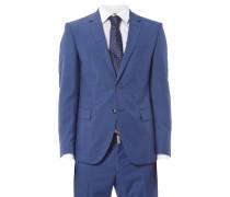 Anzug aus Schurwoll-Seide-Mix mit 2-Knopf-Sakko