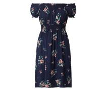 Off-Shoulder-Kleid aus Viskose
